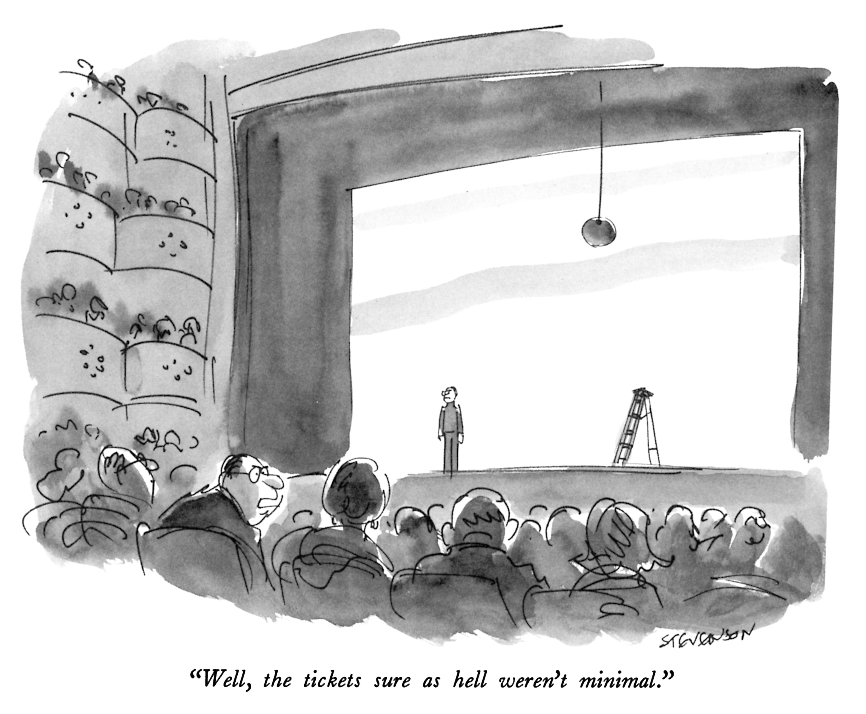 Artist:James Stevenson Credit:James Stevenson The New Yorker Collection/The Cartoon Bank
