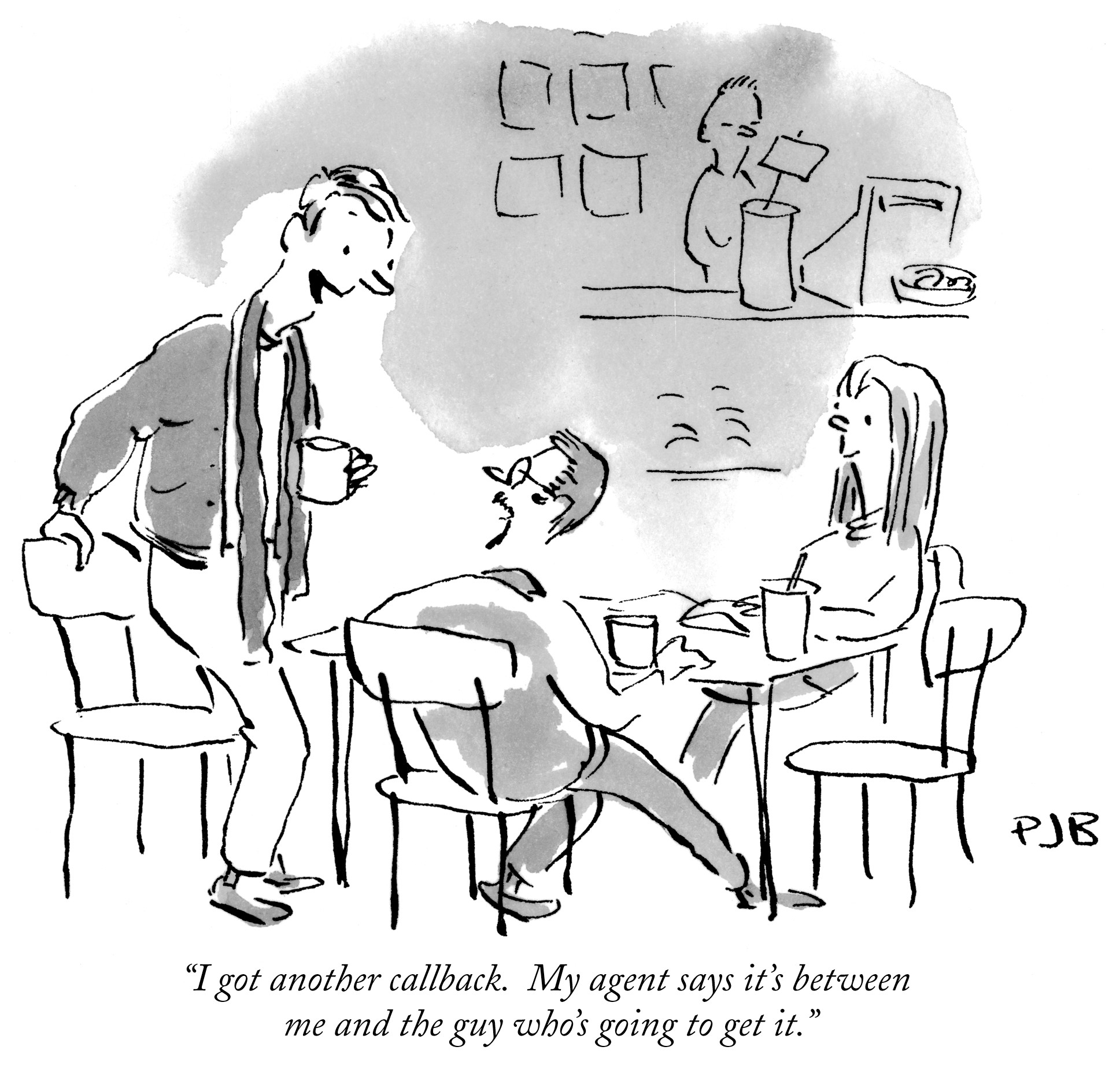 Artist:Pat Byrnes Credit:Pat Byrnes The New Yorker Collection/The Cartoon Bank