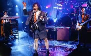 Jack Black was a big hit in the musical.