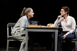LuPone with Winger in The Anarchist.