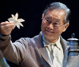 George Takei stars in musical Allegiance. on Broadway