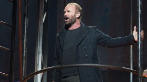 Sting appeared in The Last Ship in an attempt to boost ticket sales.